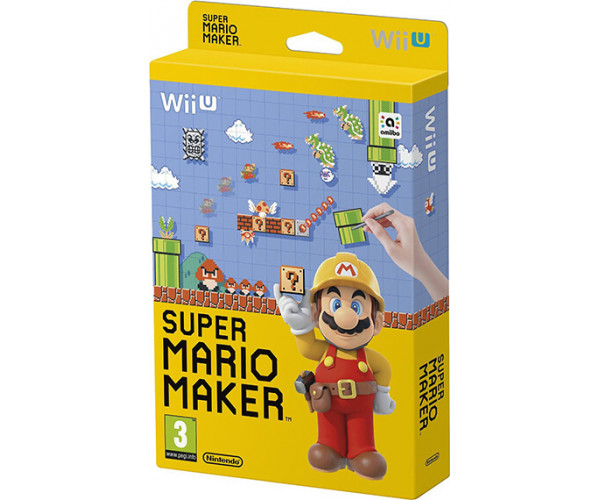 SUPER MARIO MAKER & ARTBOOK - WII U GAME
