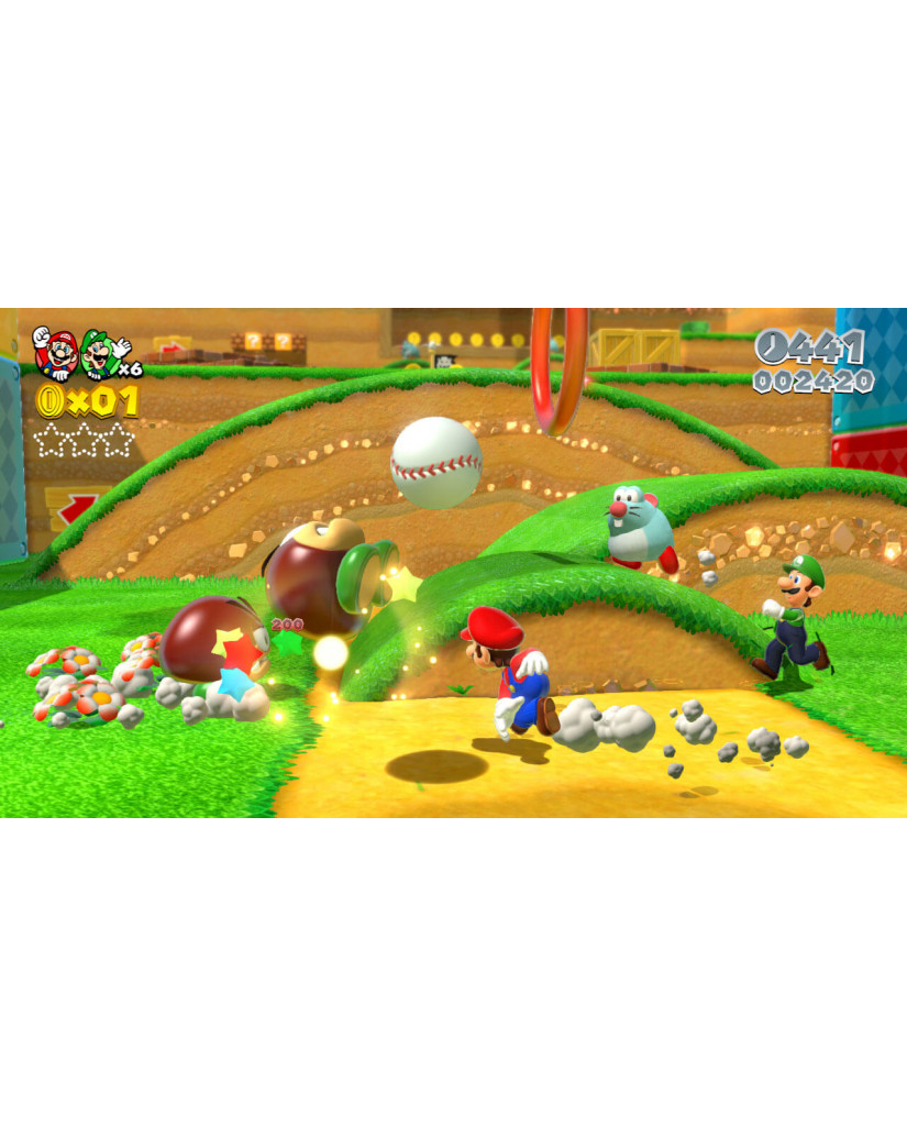 SUPER MARIO 3D WORLD SELECTS - WII U GAME