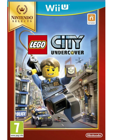 LEGO CITY UNDERCOVER SELECTS - WII U GAME