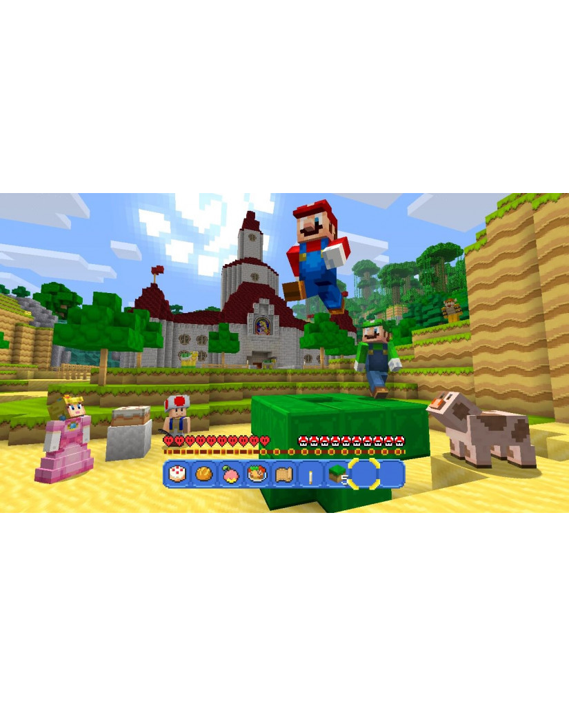 MINECRAFT WII U EDITION + SUPER MARIO MASH-UP - WII U GAME