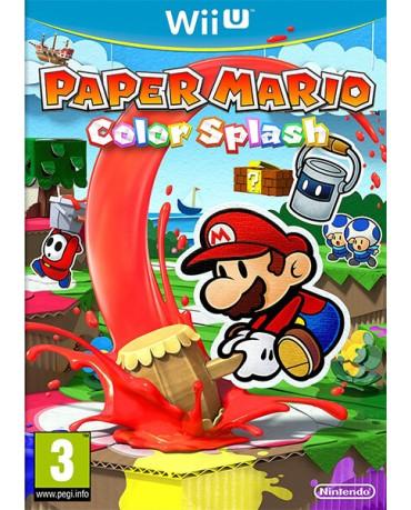 PAPER MARIO COLOR SPLASH - WII U GAME