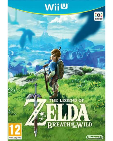 THE LEGEND OF ZELDA BREATH OF THE WILD - WII U GAME