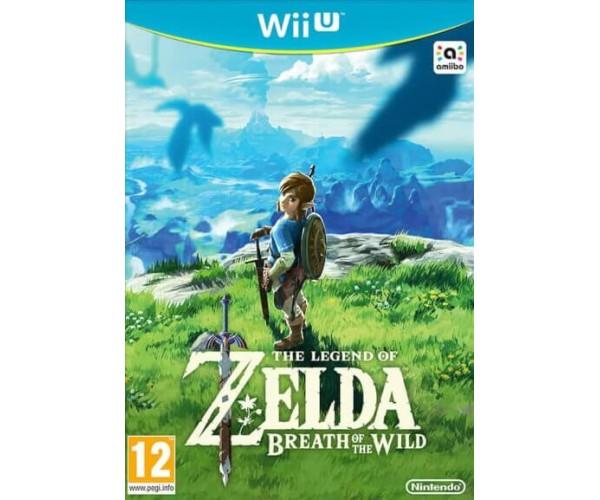 THE LEGEND OF ZELDA BREATH OF THE WILD - WII U GAME