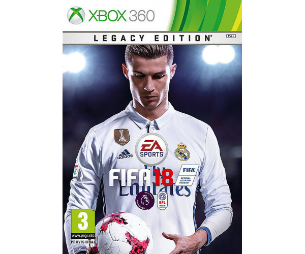 FIFA 18 LEGACY EDITION + ΔΩΡΟ MOUSEPAD - XBOX 360 GAME