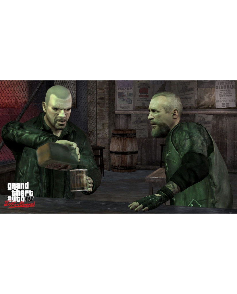 GRAND THEFT AUTO EPISODES FROM LIBERTY CITY - XBOX 360 GAME