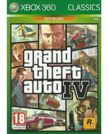 GRAND THEFT AUTO IV ΜΕΤΑΧ. - XBOX 360 GAME