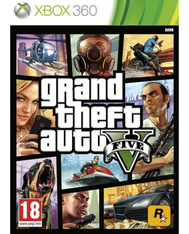 GRAND THEFT AUTO V (GTA V) - XBOX 360 GAME