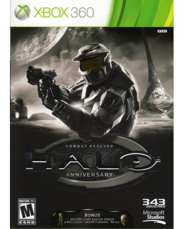 HALO: COMBAT EVOLVED ANNIVERSARY - XBOX 360 GAME