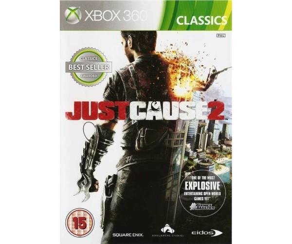 JUST CAUSE 2 CLASSICS - XBOX 360 GAME