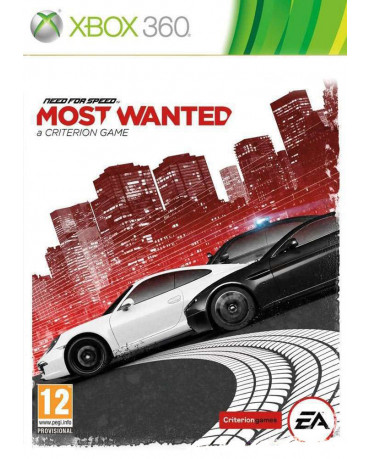 NEED FOR SPEED MOST WANTED - XBOX 360 GAME