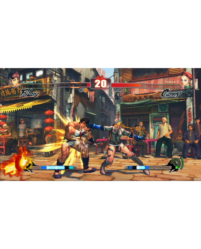 STREET FIGHTER IV ΜΕΤΑΧ. - XBOX 360 GAME