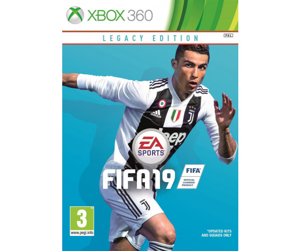 FIFA 19 LEGACY EDITION - XBOX 360 GAME