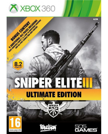 SNIPER ELITE III ULTIMATE EDITION ΜΕΤΑΧ. - XBOX 360 GAME