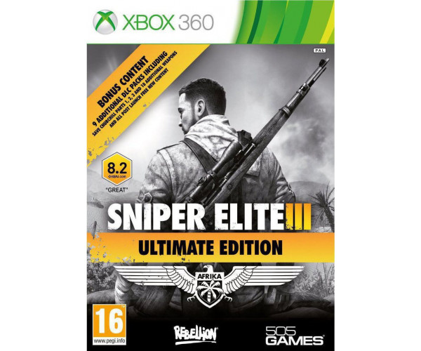 SNIPER ELITE III ULTIMATE EDITION ΜΕΤΑΧ. - XBOX 360 GAME