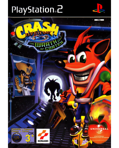 CRASH BANDICOOT THE WRATH OF CORTEX ΜΕΤΑΧ. - PS2 GAME