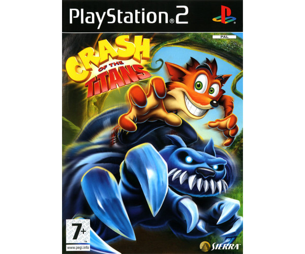 CRASH OF THE TITANS - PS2 GAME