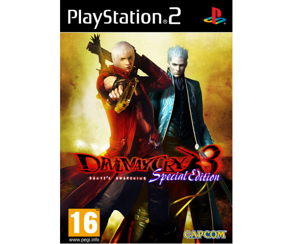 DEVIL MAY CRY 3: DANTE'S AWAKENING SPECIAL EDITION – PS2 GAME