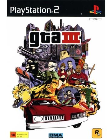 GRAND THEFT AUTO III (GTA III) – PS2 GAME