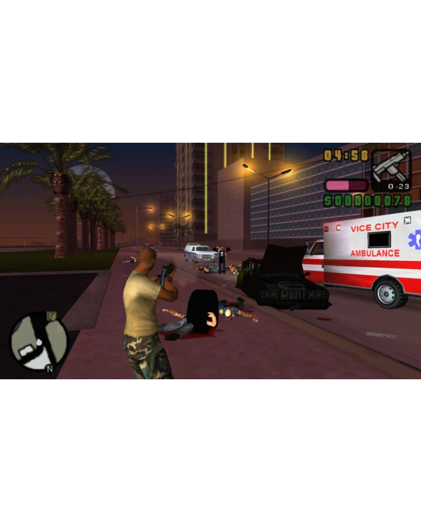 GRAND THEFT AUTO VICE CITY STORIES - PS2 GAME