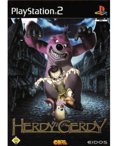 HERDY GERDY ΜΕΤΑΧ. - PS2 GAME