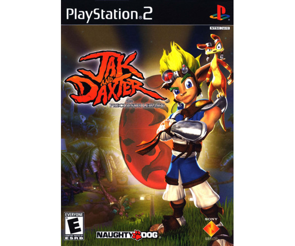 JAK AND DAXTER THE PRECURSON LEGACY ΜΕΤΑΧ. - PS2 GAME