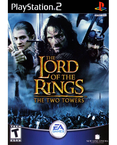 THE LORD OF THE RINGS THE TWO TOWERS ΜΕΤΑΧ. - PS2 GAME