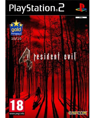 RESIDENT EVIL 4 - PS2 GAME