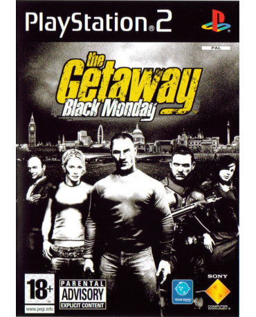 THE GETAWAY BLACK MONDAY – PS2 GAME