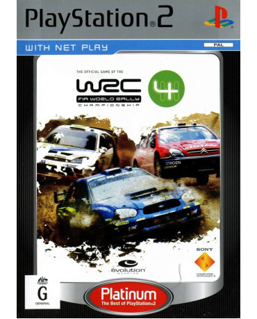WRC 4 PLATINUM ΜΕΤΑΧ. - PS2 GAME