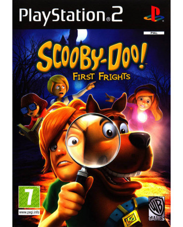 SCOOBY-DOO! FIRST FRIGHTS - PS2 GAME