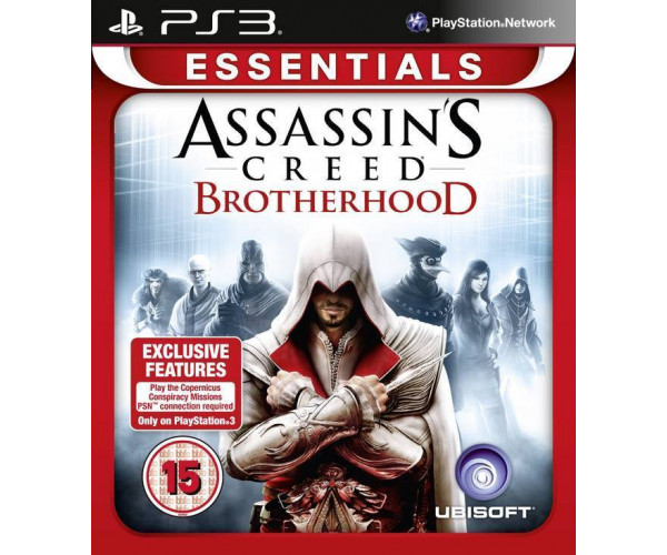 ASSASSIN'S CREED BROTHERHOOD ESSENTIALS - PS3 GAME