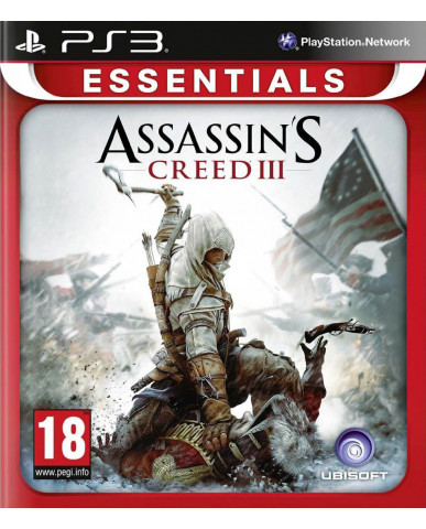 ASSASSIN'S CREED III ESSENTIALS ΜΕΤΑΧ. - PS3 GAME