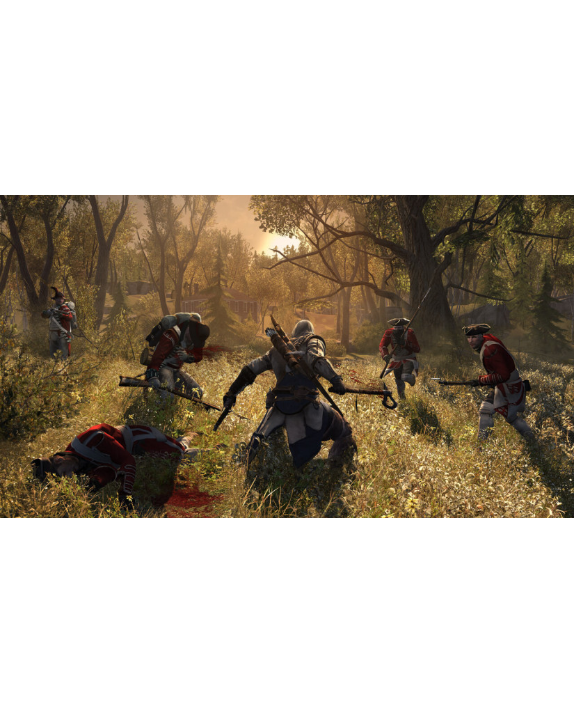 ASSASSIN'S CREED III - WII U GAME