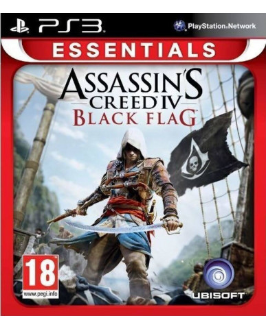 ASSASSIN'S CREED IV: BLACK FLAG ESSENTIALS - PS3 GAME