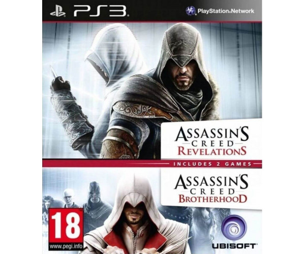 ASSASSIN'S CREED: REVELATIONS & ASSASSIN'S CREED: BROTHERHOOD - PS3 GAME