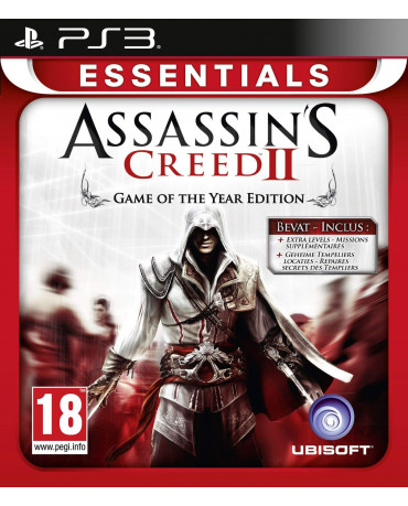ASSASSIN'S CREED II : GAME OF THE YEAR EDITION ESSENTIALS ΜΕΤΑΧ. - PS3 GAME