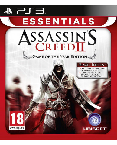 ASSASSIN'S CREED II GAME OF THE YEAR EDITION ESSENTIALS - PS3 GAME