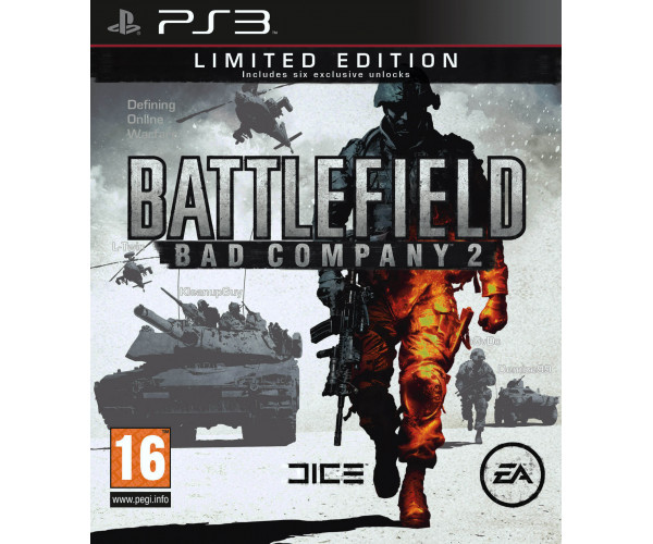 BATTLEFIELD BAD COMPANY 2 LIMITED EDITION METAX. – PS3 GAME
