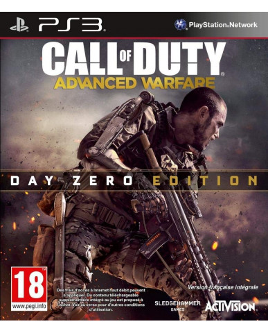 CALL OF DUTY ADVANCED WARFARE DAY ZERO EDITION - PS3 GAME
