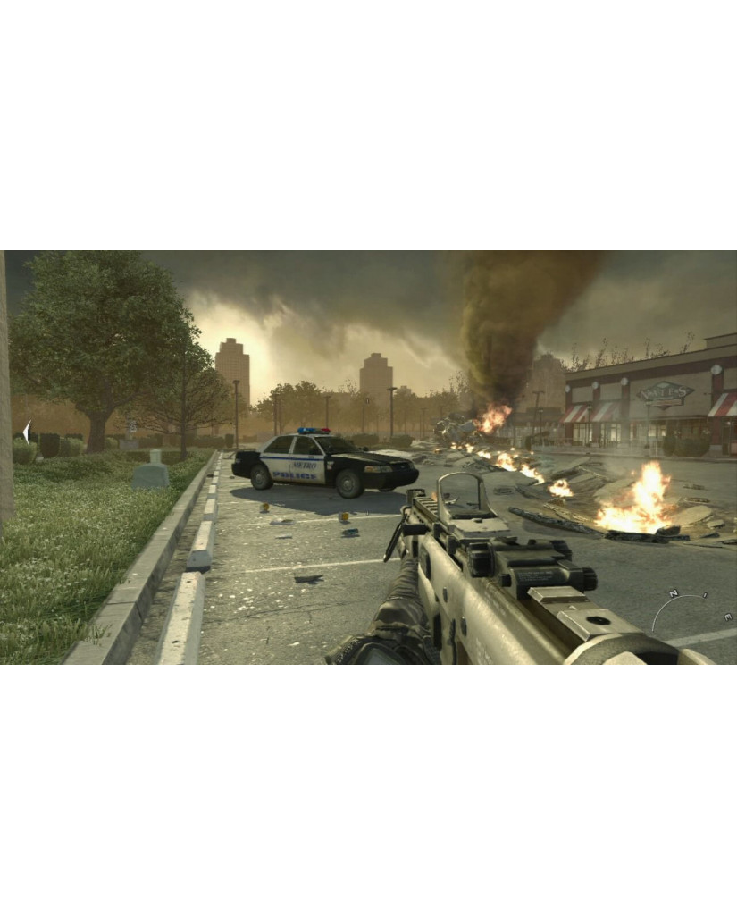 CALL OF DUTY MODERN WARFARE 2 METAX. - PS3 GAME