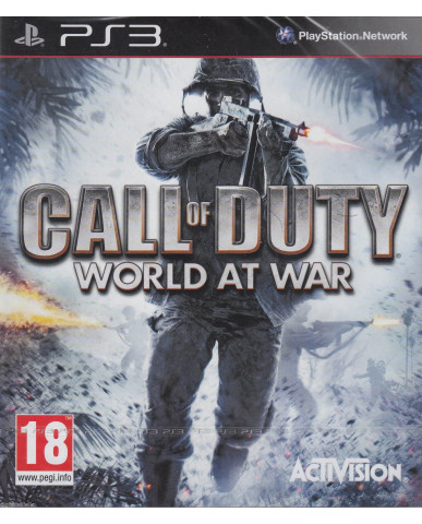 CALL OF DUTY WORLD AT WAR - PS3 GAME
