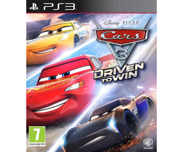 CARS 3: DRIVEN TO WIN - PS3 GAME
