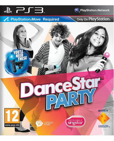 DANCE STAR PARTY METAX. – PS3 GAME