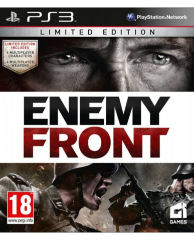 ENEMY FRONT LIMITED EDITION ΜΕΤΑΧ. - PS3 GAME