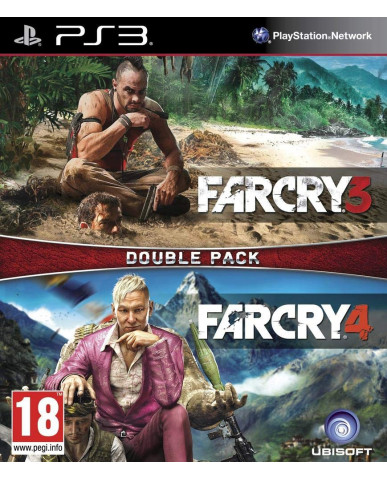 FAR CRY 3 + FAR CRY 4 DOUBLE PACK - PS3 GAME