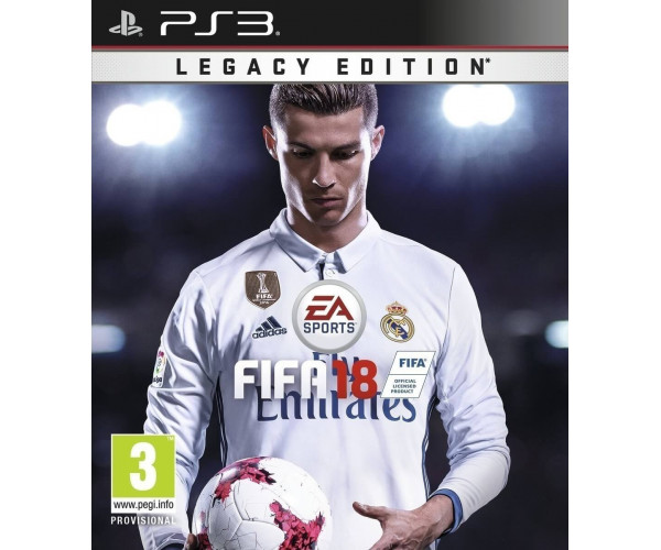 FIFA 18 LEGACY EDITION - PS3 GAME