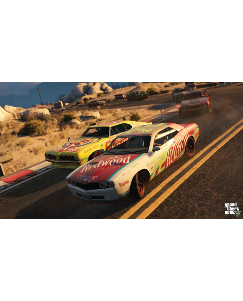 GRAND THEFT AUTO V ΜΕΤΑΧ. - PS3 GAME