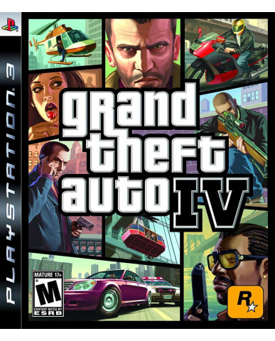 GRAND THEFT AUTO IV ΜΕΤΑΧ. - PS3 GAME