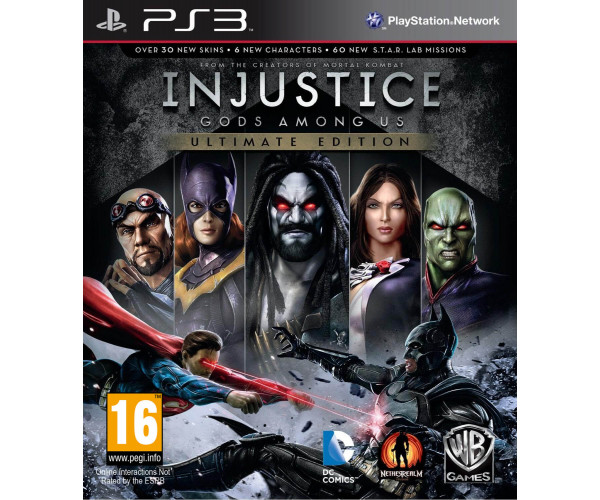 INJUSTICE: GODS AMONG US ULTIMATE EDITION ΜΕΤΑΧ - PS3 GAME