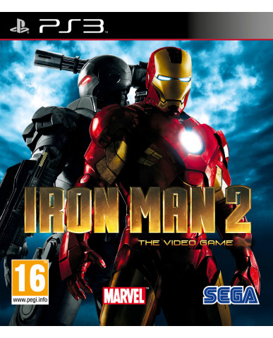 IRON MAN 2: THE VIDEO GAME METAX. – PS3 GAME